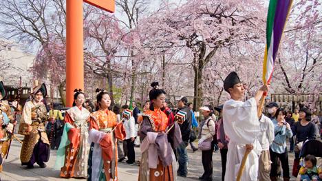 4月10日 桜花祭