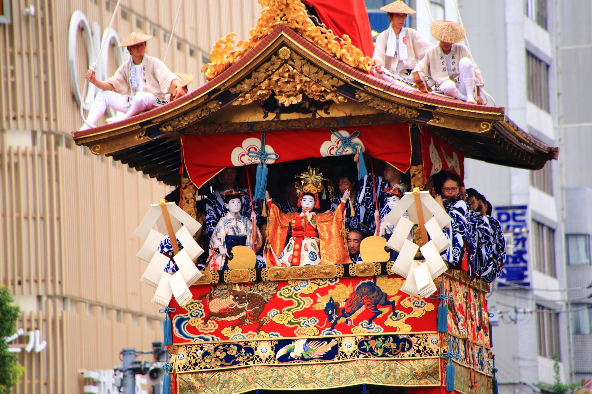 7月14~17日 祇園祭